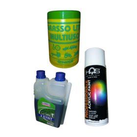 Grassi, Lubrificanti, Spray